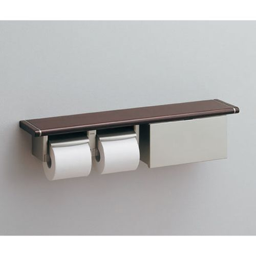 Totoのダブル 二連 棚付トイレットペーパーホルダー 紙巻器