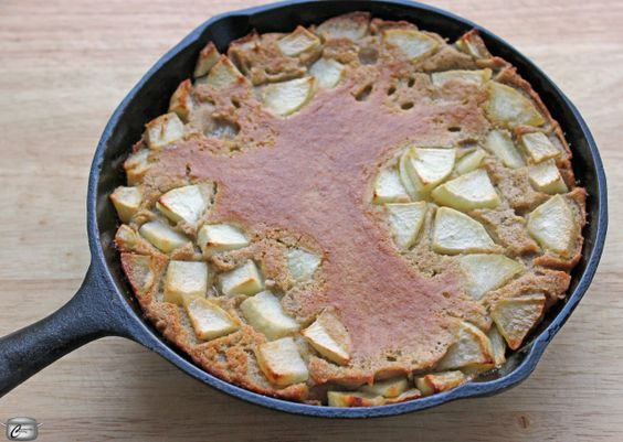 The Dutch Baby - as light, flavourful baked pancake filled with apples and apple butter - is kind of the champion of breakfast foods.