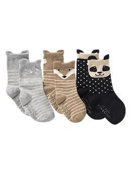 Animal socks 3 pack GAP