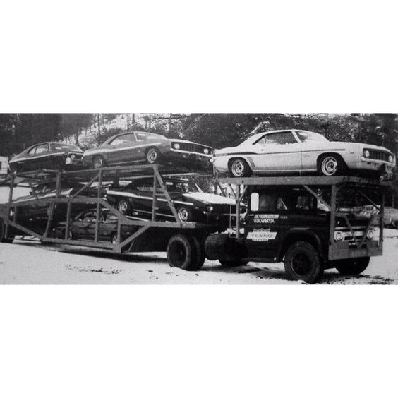 Truck Load Of YENKO Muscle Cars. Would Love To Been Able