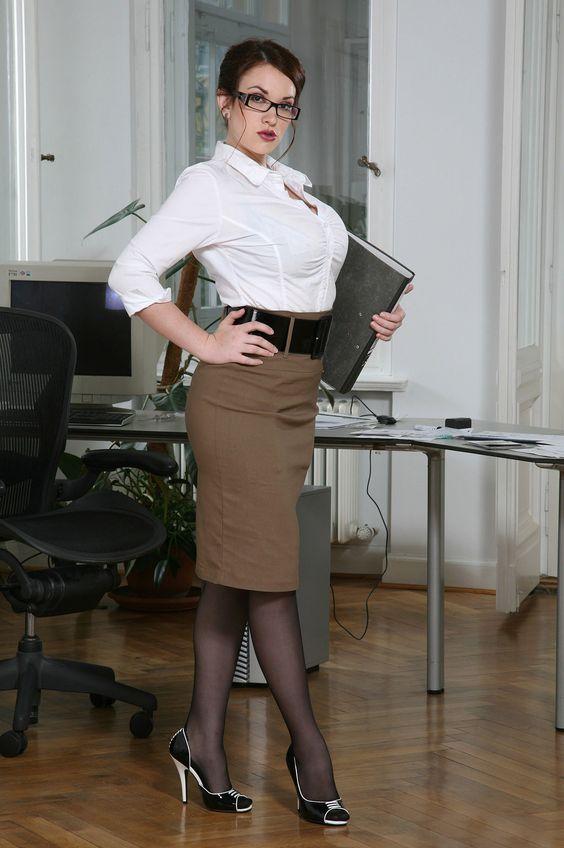 Busty Lesbian Secretaries