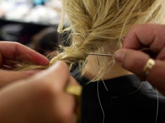 Hair Sewing: Hairstyles Nails, Hairstyle 22066, Hair Style, Twist Hairstyles, Hairstyle Freakin, Sewing Hair