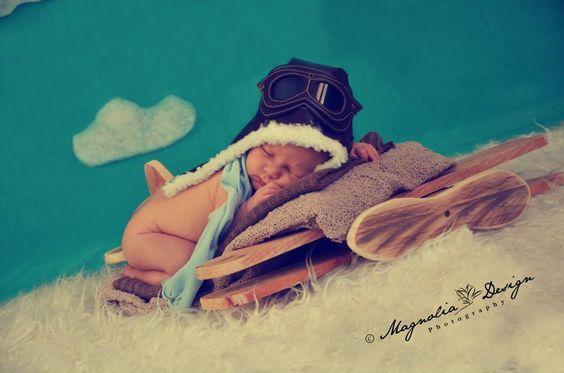 Bebe aviador - Magnolia Design Photography