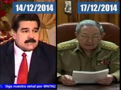 """A Nicolás se le acabó el cuento del """"imperio"""": Diálogo USA-Cuba"""
