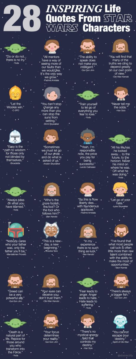 Star Wars - Life lessons