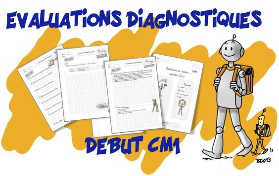 Bout de gomme - Évaluations de rentrée CE2-CM1-Cm2