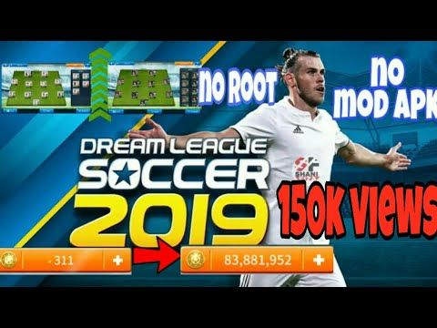 Dream League Soccer 2019 Mod Apk No Root Legendary Players Unlocked Unlimited Coins Youtube Game Download Free Play Hacks Latest Games