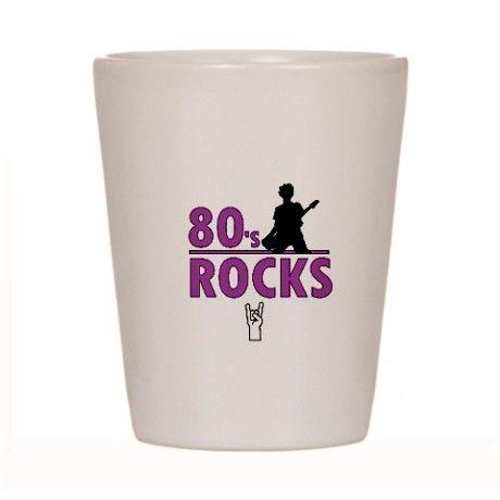 80's Roks Shot Glass
