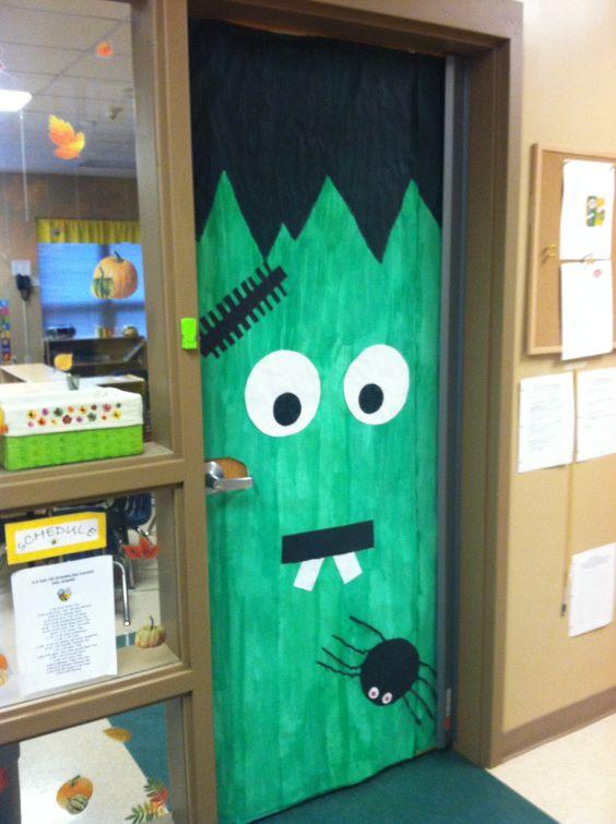 happy halloween classroom door preschool bulletin boards
