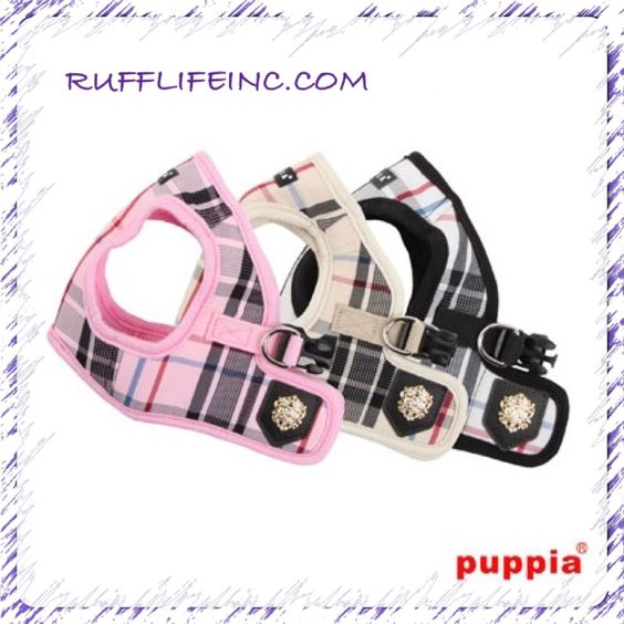 Harness for your fur child. Avail in all 3 colors. Use coupon code PAWS20 for 20% off @ Rufflifeinc.com