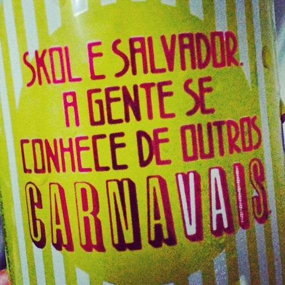 #Carnaval #Skol