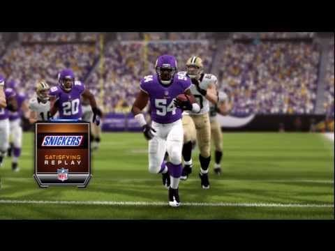Madden 25 - Minnesota Vikings Big Hit on RB