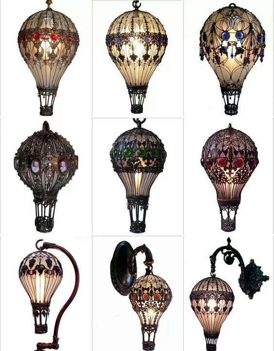 Amazing craftsmanship! Baroque art lightbulbs.