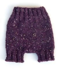 diaper cover knit in the round  *Free Pattern
