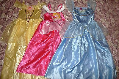 3 x #princess #dressing up costume age 5-7 #years,  View more on the LINK: http://www.zeppy.io/product/gb/2/272060661128/