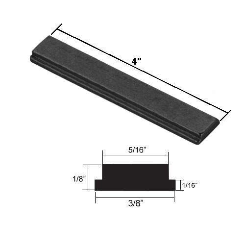 Shower Door Metal Strike Plate For Swing Shower Doors 4 Long Review Shower Doors Shower Door Handles Shower Installation