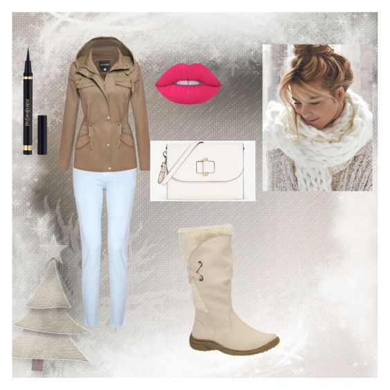 """""""for the awesomest person ever"""" by horse-lover13 ❤ liked on Polyvore featuring J Brand, Ann Taylor, Lime Crime and Yves Saint Laurent"""