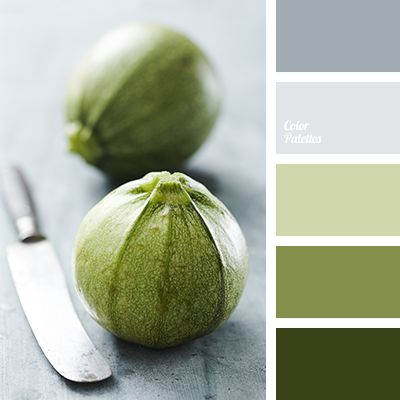 Green, gray, steel - neutral colors, which you can watch for a long time without getting tired. Green in this palette tends to be warmer and more cheerful like a colors of spring greenery. Organize your work area in these colors and the will become the key to eye health and comfort while you're working with computer.