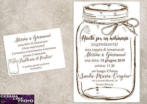 Partecipazione Matrimonio Invito Nozze Personalizzato Matrimonio Personalizzato Matrimonio Felice Matrimonio