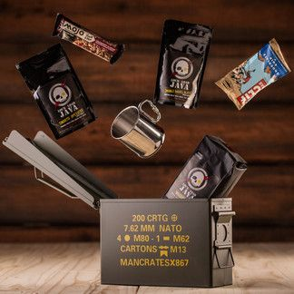 We've partnered with the veterans at LockNLoad Java- battle hardended guys that wage full scale war on sluggish Monday mornings, post-lunch food comas, and every other droopy-eyed productivity gap that threatens the success of your mission.