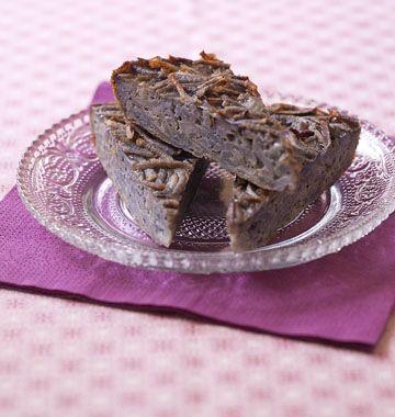 Galette de pommes de terre vitelotte râpées - Recettes de cuisine Ôdélices