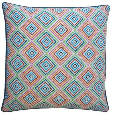 Jiti Square Throw Pillow Color: