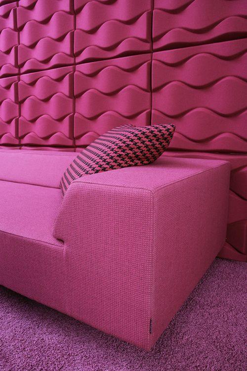 panneau acoustique design soundwave flo par karim. Black Bedroom Furniture Sets. Home Design Ideas