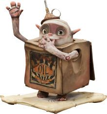 Animation Art:Maquette, The Boxtrolls Oil Can Original Animation Puppet (LAIKA,2014)....