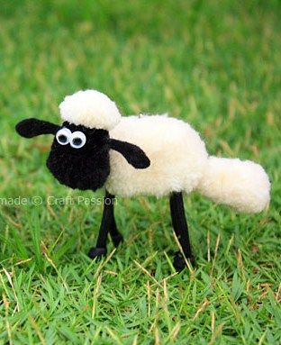 How to Make a Shaun the Sheep! @Ani Owens Remember Home Sheep Home in 6th Grade??