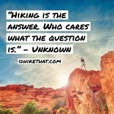 25 Funny Hiking Quotes to Make you Laugh | Hiking quotes