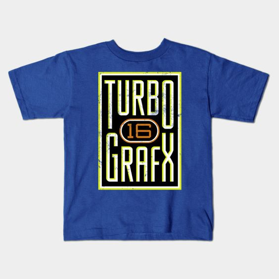 Lightly Distressed Turbografx 16 Shirt Young T-Shirt