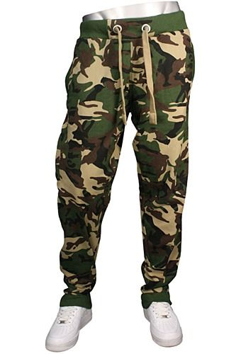 Cool  Waist Sports Casual Overalls Lovers Baggy Camouflage Camo Pants Women