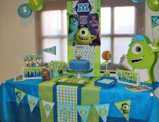 Monsters Inc Birthday Tommy S With Images Monster Inc