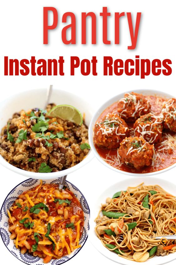 Pantry Instant Pot Recipes