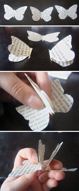 Easy tutorial! But who says they have to be tiny? You could make them large as well!