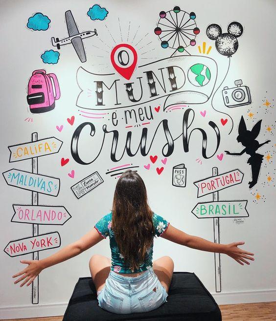 📍O mundo é meu #crush ❤️ Da talentosa @karolstefanini (sigam ela) Eu simplesmente AMEI sua lindaaa!