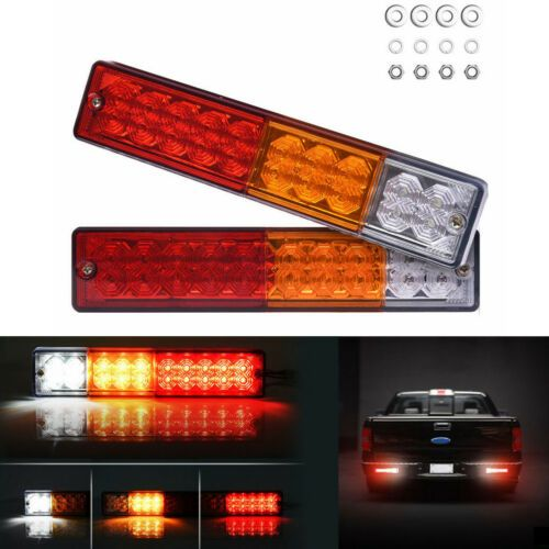 2x 20 Led 12v Remorque Camion Van Feux Freinage Arriere Indicateur Arriere Lampe Led Fog Lights Led Light Bars Led Work Light