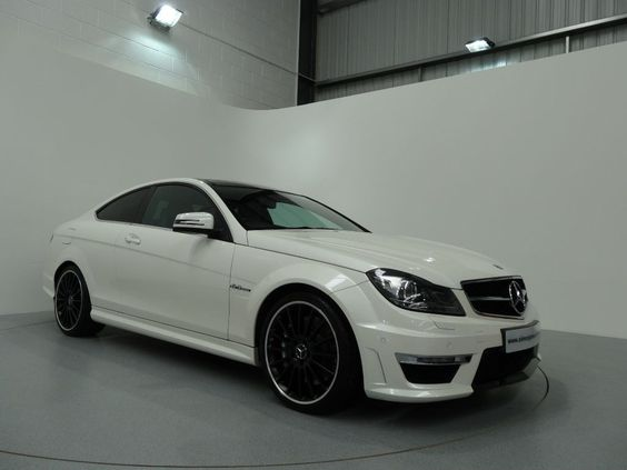 Mercedes Benz C63 Edition 125 AMG Coupe Finished in Diamond White