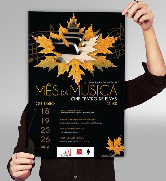 Em outubro comemora-se o mês da música... e A Academia de Música de Elvas faz questão de o festejar, e nós também!