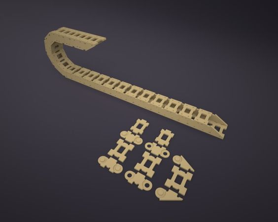 DIY CNC Cable Carrier (DXF file link is included)