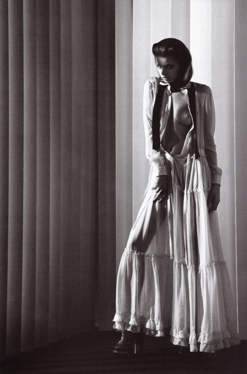 Abbey Lee Kershaw | Mario Sorrenti | Italian Vogue Aug 2010 | 'Variation on Chic' - 3 Sensual Fashion Editorials | Art Exhibits - Anne of Carversville Women's News