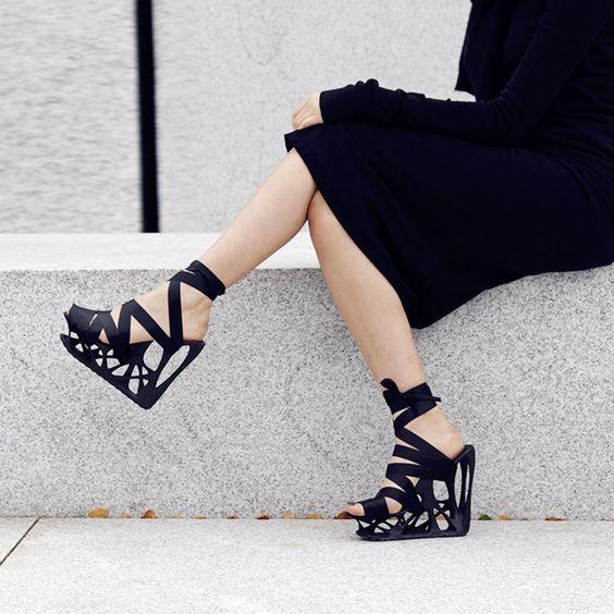 Shoespie Unique Laceup Wedge Sandals