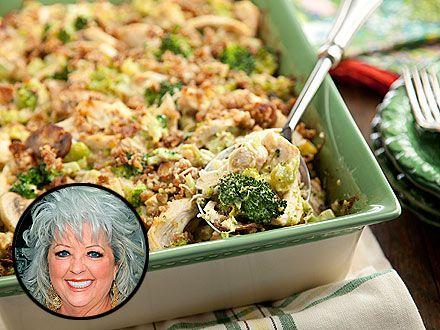 Get the Recipe!: Paula Deen's Revised Chicken Divan (only 1 tbsp. of butter!)