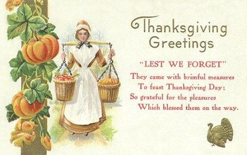 Vintage Thanksgiving Blessings