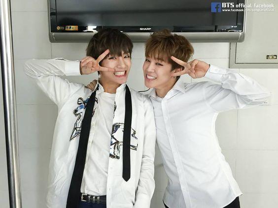 V and Jimin • Happy Birthday Kim Taehyung ♡ #HappyVDay