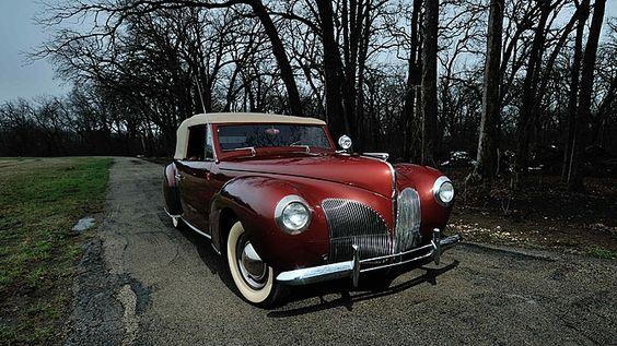 1940 Lincoln Zephyr Continental Convertible 120 HP presented as lot F60.1 at Kansas City, MO 2015 - image1