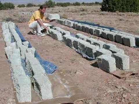 Diy how to make papercrete in a tow mixer for Diy adobe house