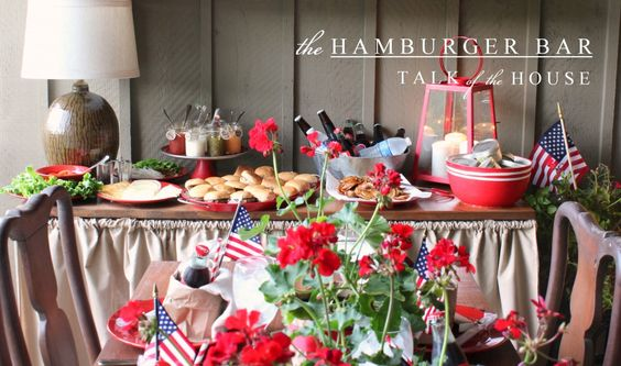 july 4th hamburger recipes