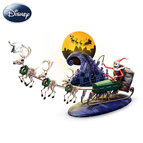 Nightmare before, Before christmas and Reindeer on Pinterest