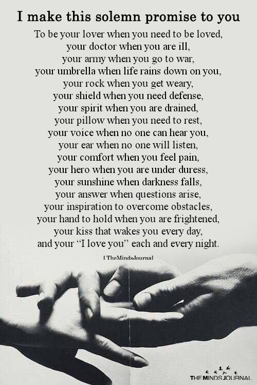 Husband Soulmate Love Quotes : husband, soulmate, quotes, Solemn, Promise, Yourself, Quotes,, Romantic, Husband, Quotes